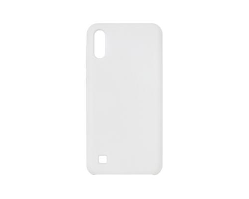 Силиконовый чехол для Samsung M10/M105 Vixion (белый)