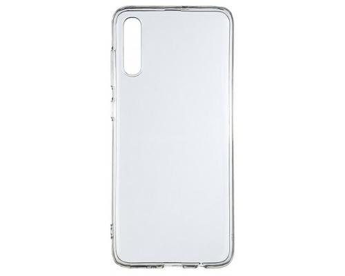 Силиконовый чехол для Samsung A70 плотный прозрачный