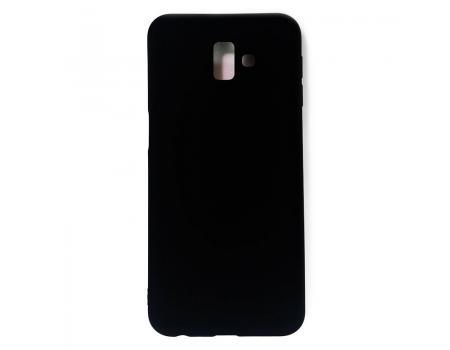 Силиконовый чехол для Samsung J6 Plus матовый Soft-Touch