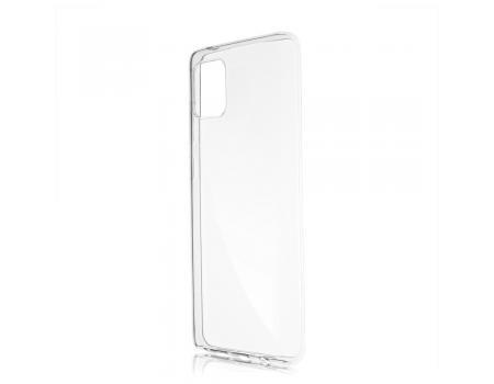 Силиконовый чехол для Samsung Note 10 Lite плотный прозрачный