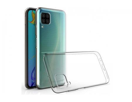 Силиконовый чехол для Huawei P40 Lite плотный прозрачный