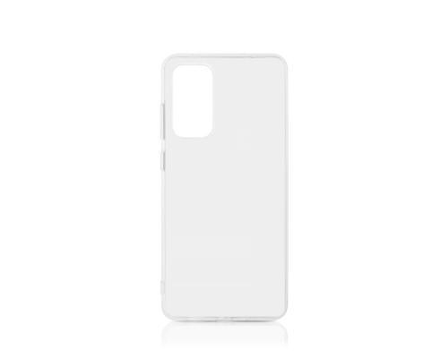 Силиконовый чехол для Samsung A41 плотный прозрачный