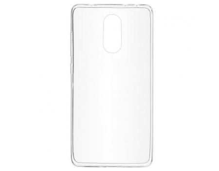 Силиконовый чехол для Xiaomi Redmi 5 Plus плотный прозрачный