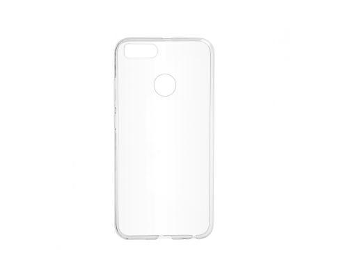 Силиконовый чехол для Xiaomi Mi 8 Lite плотный прозрачный