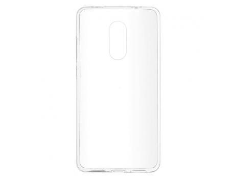Силиконовый чехол для Xiaomi Redmi Note 4X плотный прозрачный