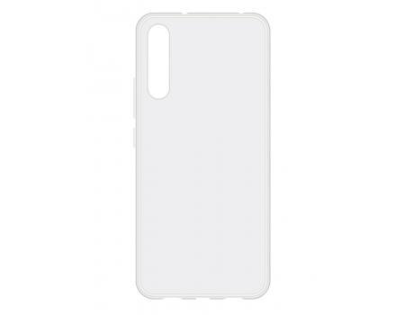 Силиконовый чехол для Xiaomi Mi A3 плотный прозрачный