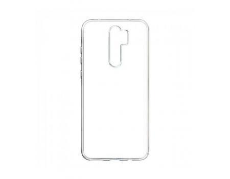 Силиконовый чехол для Xiaomi Redmi Note 8 Pro плотный прозрачный