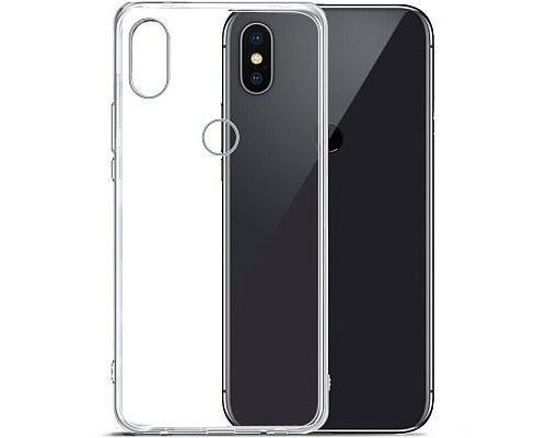 Силиконовый чехол для Xiaomi Mi A2 Lite плотный прозрачный