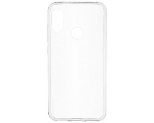 Силиконовый чехол для Xiaomi Mi A2 плотный прозрачный