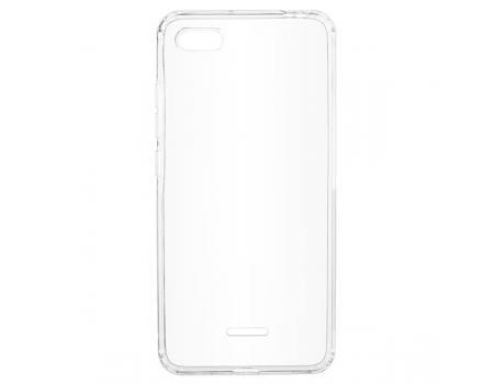 Силиконовый чехол для Xiaomi Redmi 6A плотный прозрачный