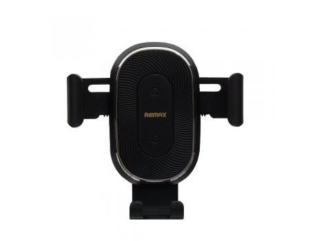 Держатель в решетку с беспроводной зарядкой для смартфонов Remax RM-C38