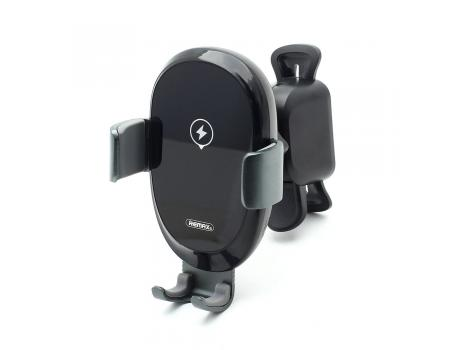 Держатель в решетку с беспроводной зарядкой для смартфонов Remax RM-C39