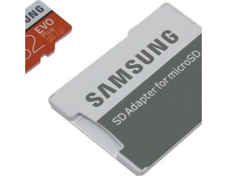 Карта памяти MicroSDHC 32GB Samsung Class 10 Evo Plus UHS-I U1 (20/95 Mb/s) + SD адаптер
