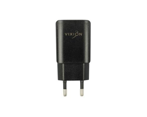 Сетевое зарядное устройство 2USB 1.2A + Lightning кабель Vixion L2i