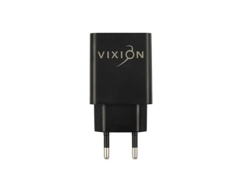 Сетевое зарядное устройство 2USB 2.1A + Lightning кабель Vixion L7i