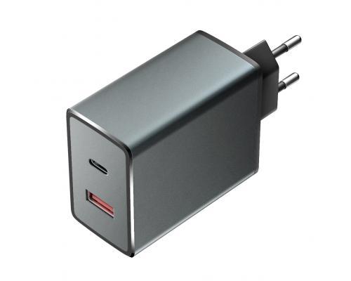 Сетевое зарядное устройство Olmio 2USB 6A QC3.0 36W