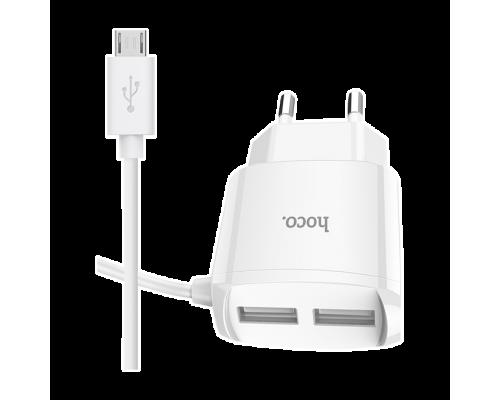 Сетевое зарядное устройство Hoco C59A 2.1А microUSB