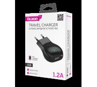 Сетевое зарядное устройство USB Olmio 1.2А