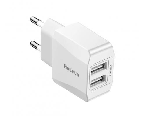 Сетевое зарядное устройство USB Baseus Mini Dual-U Charger