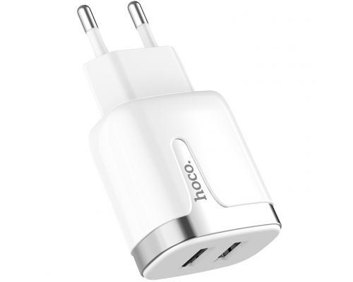Сетевое зарядное устройство USB Hoco C64A 2.1А