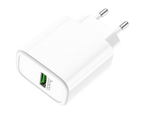 Сетевое зарядное устройство USB с быстрой зарядкой Hoco C69A QC 3.0