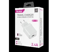 Сетевое зарядное устройство USB Olmio Smart IC 2.4А
