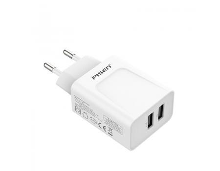 Сетевое зарядное устройство USB Pisen TS-C067