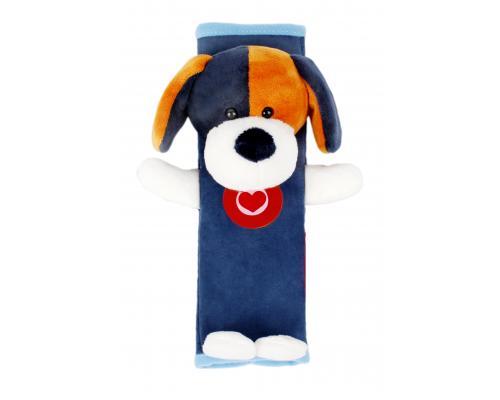 Мягкая накладка на ремни безопасности и лямки рюкзаков, Собачка, Olmio
