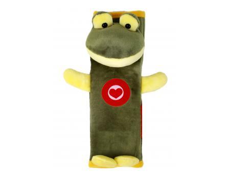Мягкая накладка на ремни безопасности и лямки рюкзаков, Лягушка, Olmio
