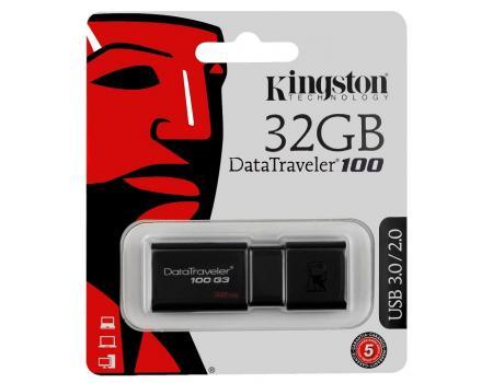 USB-флеш 32Gb Kingston DataTraveler DT100-G3 USB 3.0