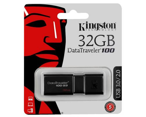 USB-флеш 32Gb Kingston DataTraveler DT100-G3 USB 3.0