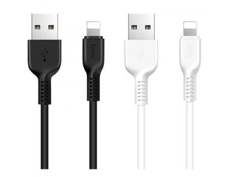 USB кабель для iPhone Lightning Hoco X20 Flash 1м