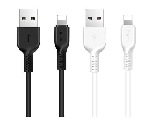 USB кабель для iPhone Lightning Hoco X20 Flash 1м