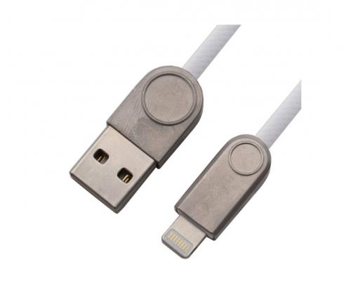 USB кабель для iPhone Lightning Zetton SyncCharge Round Snake TPE Data Cable