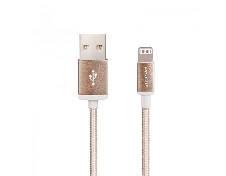 USB кабель для iPhone Lightning Pisen AL06