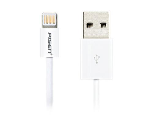 USB кабель для iPhone Lightning Pisen AL02 3м