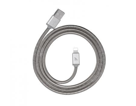 USB кабель для iPhone Lightning Hoco U5 Full Metal