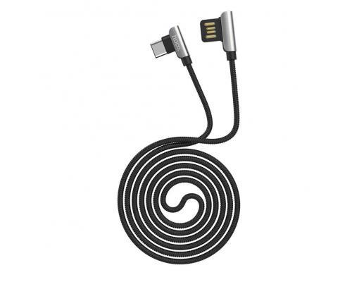 USB кабель microUSB Hoco U42 Exquisite Steel