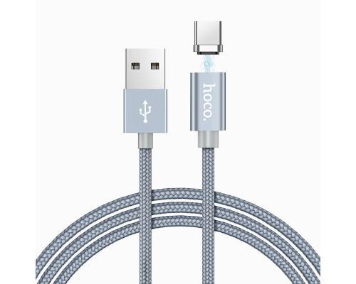 USB кабель Type-C Hoco U40A магнитный
