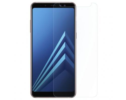 Защитное стекло для Samsung A8 (2018) прозрачное