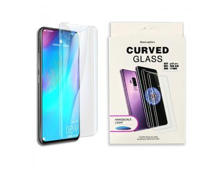 Защитное стекло 3D для Huawei P30 Lite/Honor 20S/Honor 20 Lite с гелем и лампой
