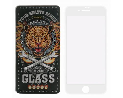 Защитное стекло 3D для iPhone SE 2020/7/8 Proda Four Beasts