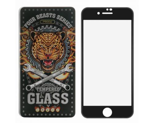 Защитное стекло 3D для iPhone 7 Plus/8 Plus Proda Four Beasts