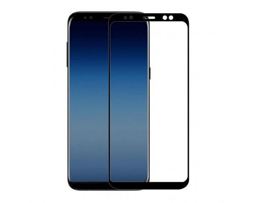 Защитное стекло 3D для Samsung A8