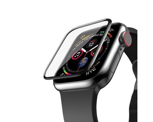 Защитное стекло для Apple Watch Series 4 44 мм Hoco Curved HD Silk Screen