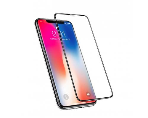 Защитное стекло 3D для iPhone 11/Xr Hoco Nano A12