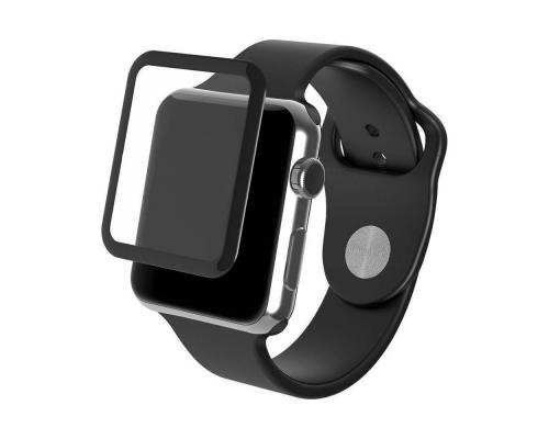 Защитное стекло 3D для Apple Watch/Watch 2/Watch 3 42 мм