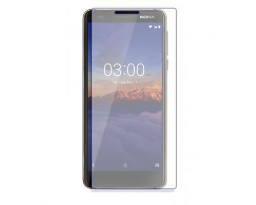 Защитное стекло для Nokia 3.1 прозрачное