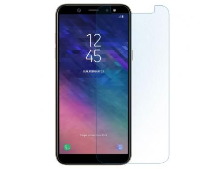 Защитное стекло для Samsung A6 Plus 2018 прозрачное
