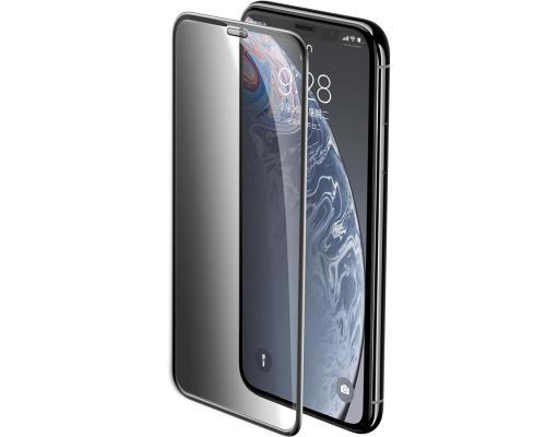 """Защитное стекло 3D для iPhone XR/11 """"Антишпион"""""""